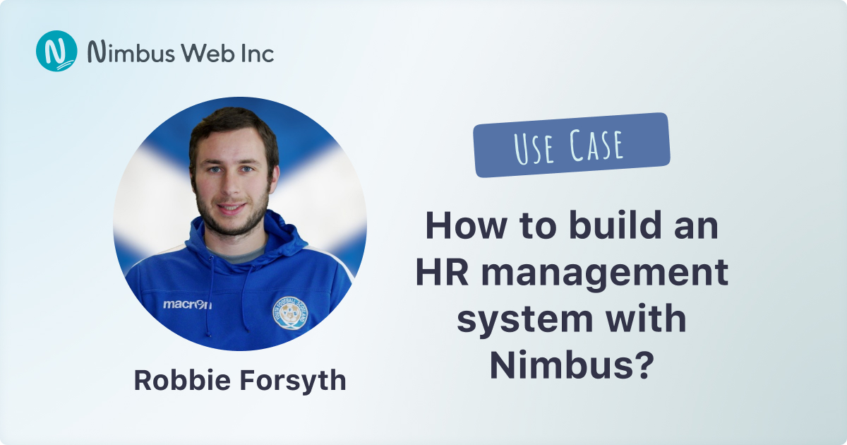 How to build a human resources management system with Nimbus
