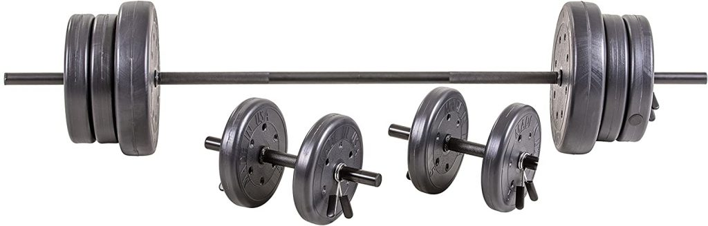 US Weight Barbell Weight Set