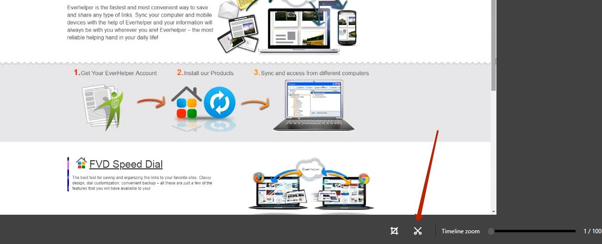 Nimbus Web Inc | Video editor in Nimbus Screenshot for G